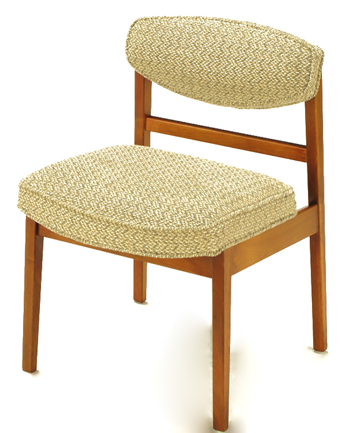 American Eight George Nelson for Herman Miller Teak Dining Chairs For Sale