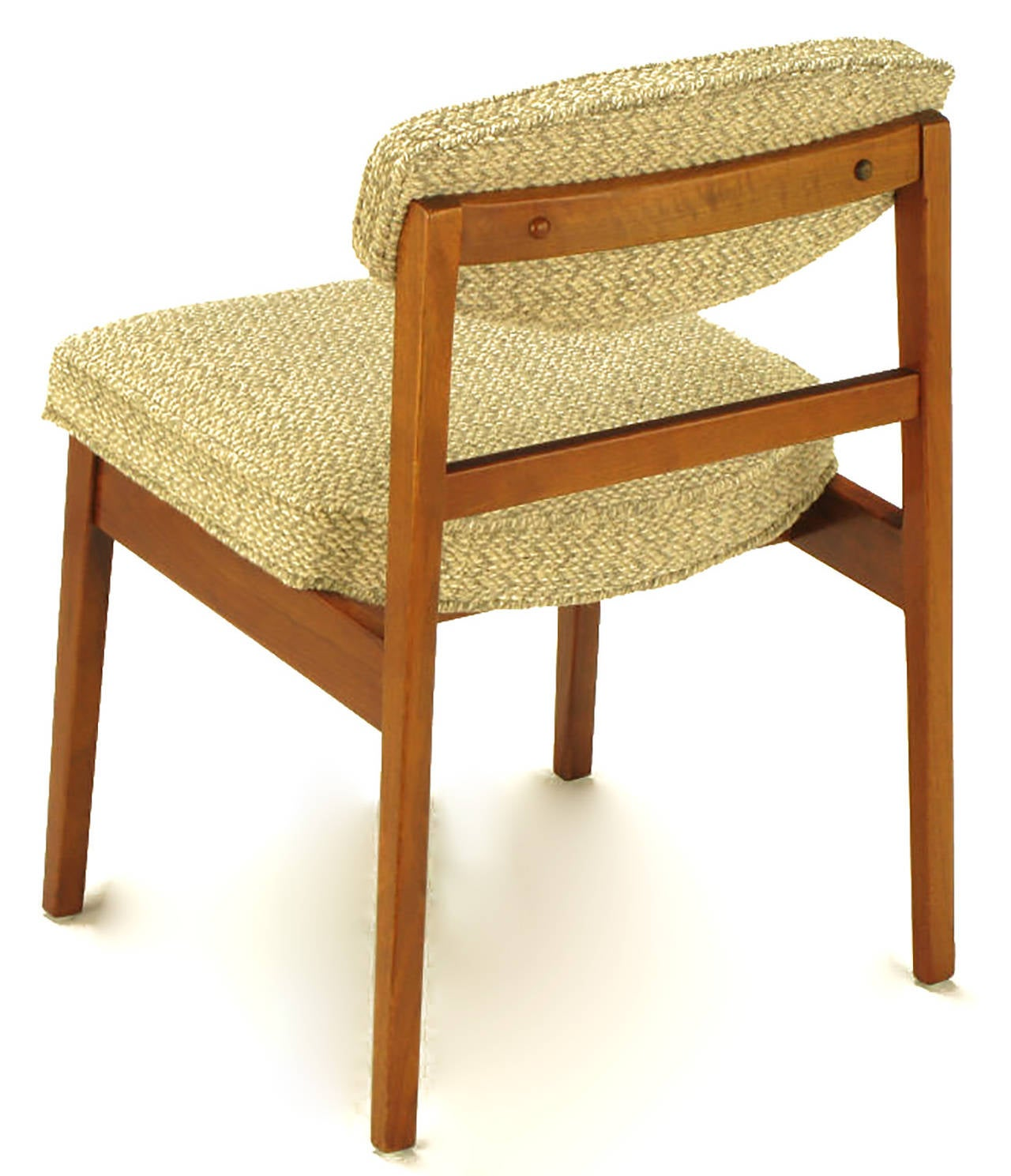 Mid-20th Century Eight George Nelson for Herman Miller Teak Dining Chairs For Sale