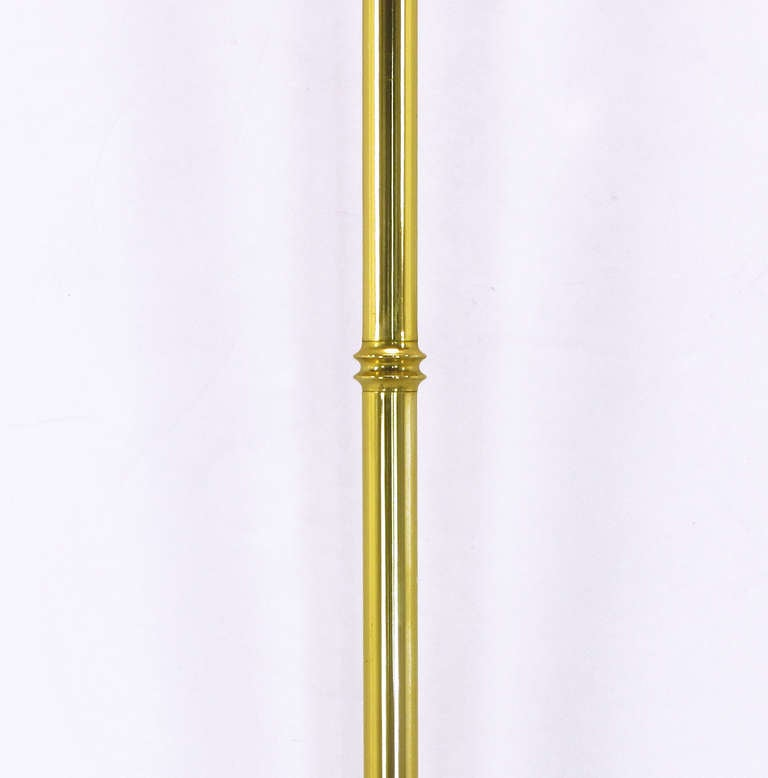 pair of chapman brass fan sconces with bamboo form cord covers at 1stdibs. Black Bedroom Furniture Sets. Home Design Ideas