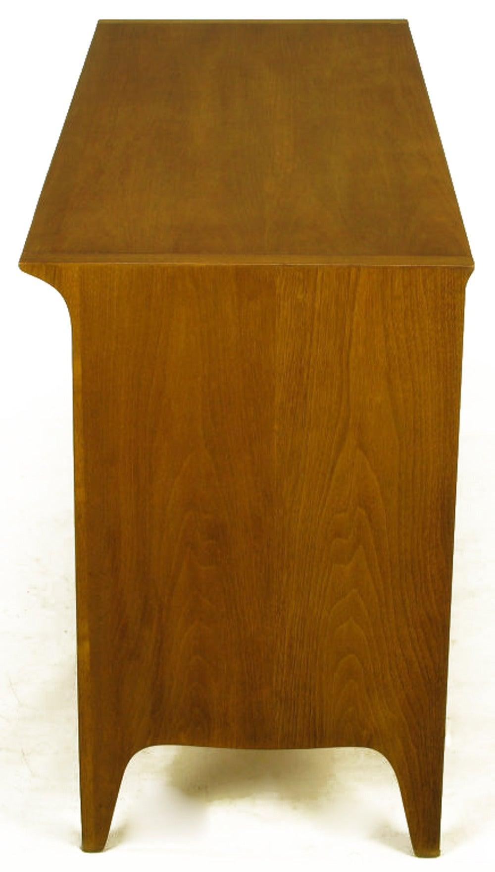 John Van Koert Profile Collection Walnut Dresser In Good Condition In Chicago, IL
