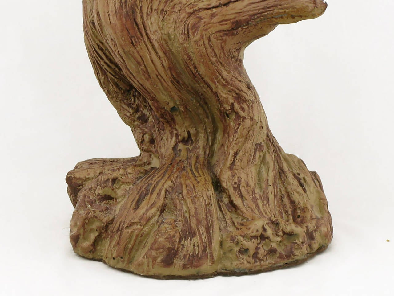 of ceramic driftwood form faux bois table lamps for sale at 1stdibs. Black Bedroom Furniture Sets. Home Design Ideas