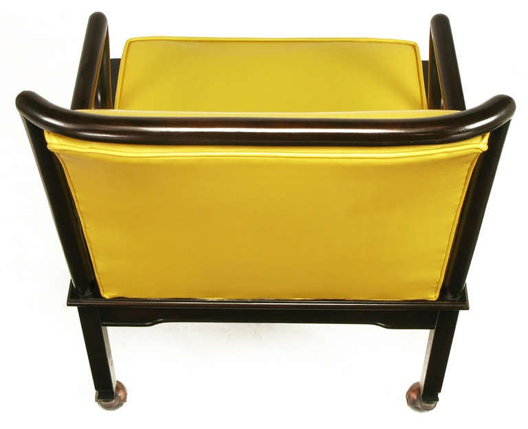 Dining chairs 6 faux leather colours with yellow faux leather dining