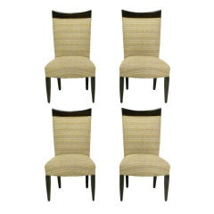 Four John Hutton For Donghia Sculptural Dining Chairs