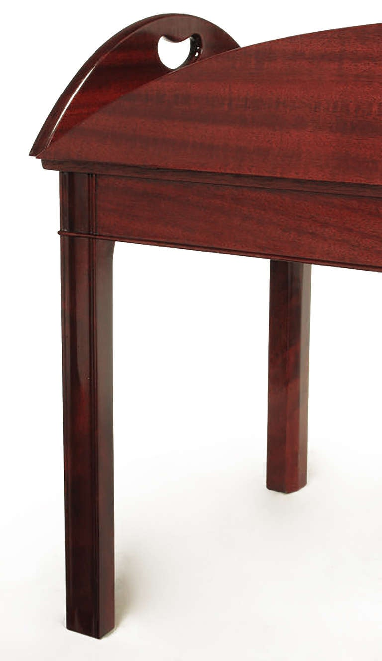 Nathan Margolis Shop Ribbon Mahogany Butler 39 S Tray Table