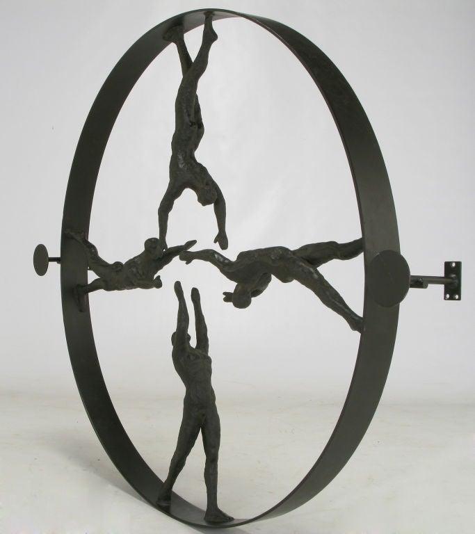 Iron Sculpture Patina Bronze Patina Cast Iron