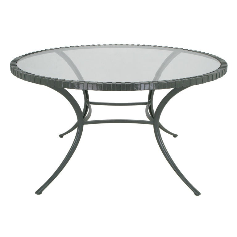 Thinline Cast Alumminum Dining Table In Slate Gray Lacquer  : XXX841912835559201 from www.1stdibs.com size 768 x 768 jpeg 27kB