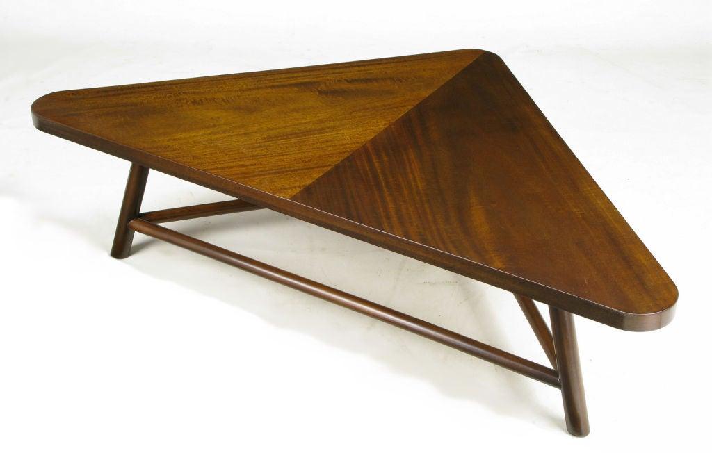 Triangular Coffee Table Robsjohn Gibbings Triangular Coffee Table At 1stdibs Bert Forward