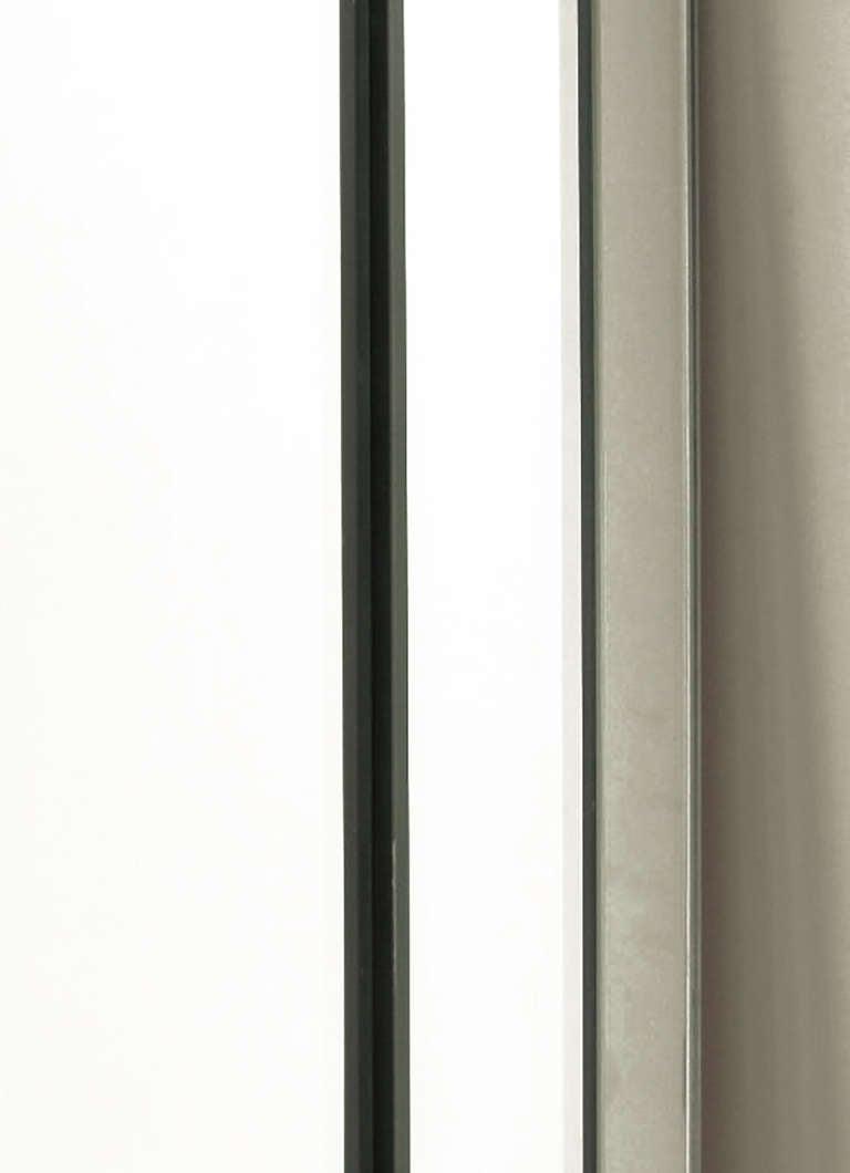 Custom Beveled-on-Beveled Glass Wall Mirror For Sale 3