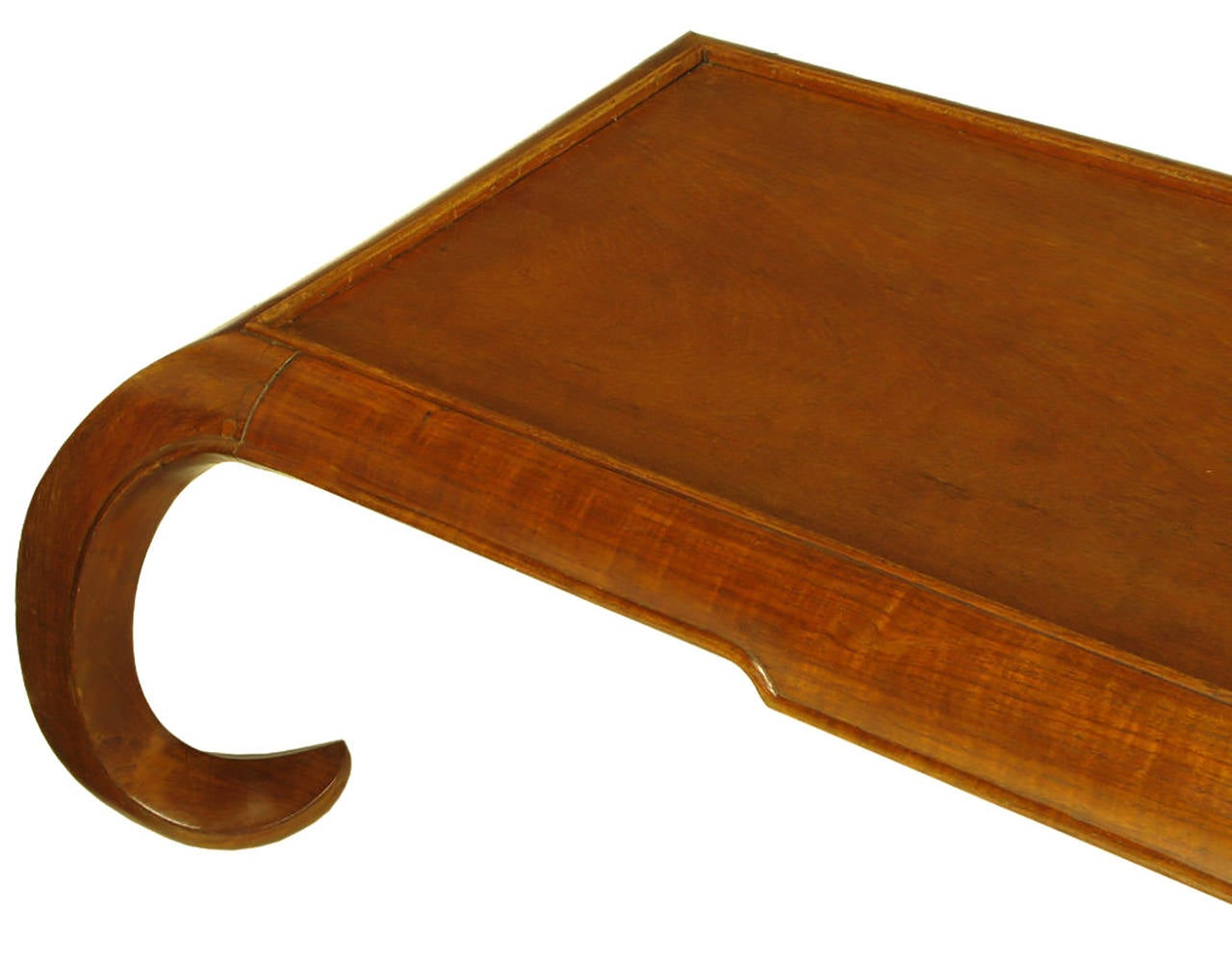 Hand-Carved Chinese Mahogany Chow Coffee Table For Sale 2