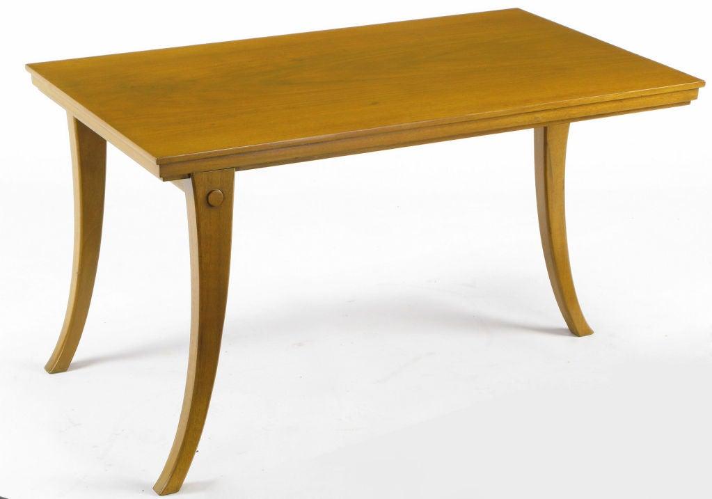 RobsjohnGibbings Walnut Klismos Leg Coffee Table For