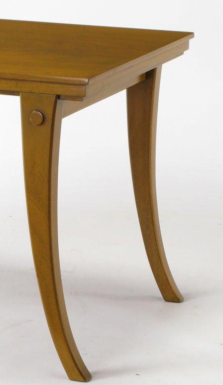 klismos leg bench ~ robsjohngibbings walnut klismos leg coffee table fo
