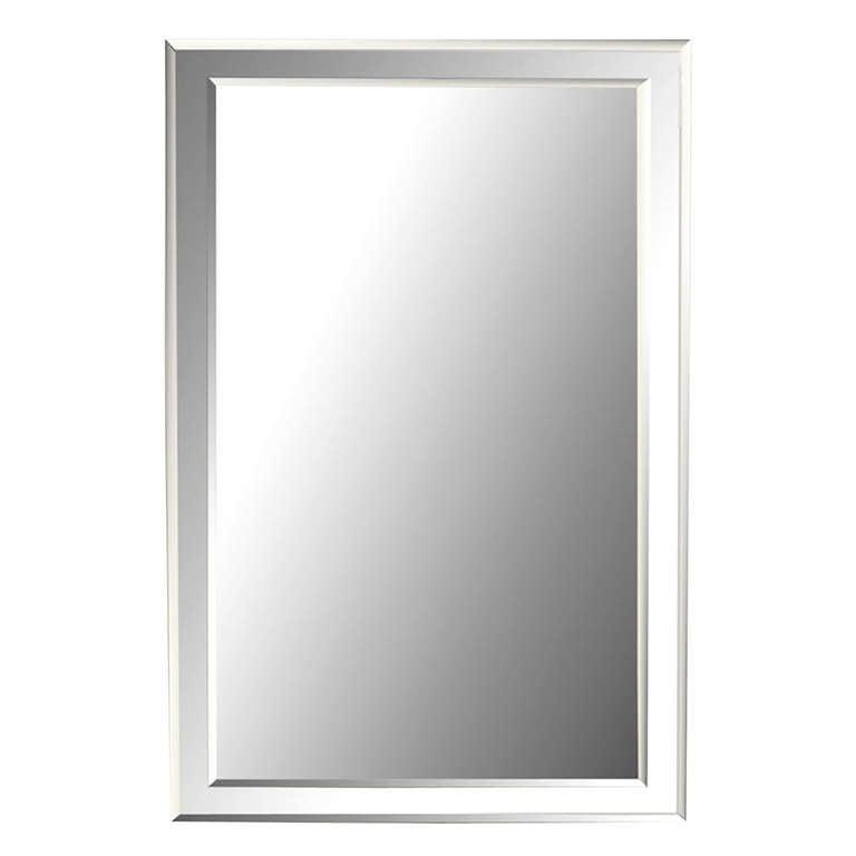 Custom beveled on beveled glass wall mirror at 1stdibs for Custom mirror glass