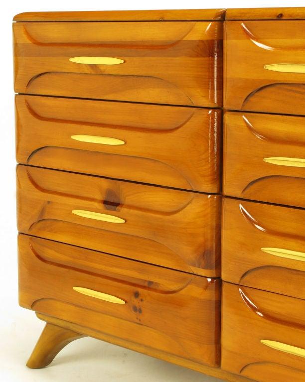 Franklin Shockey Twelve Drawer Rustic Modern Pine Dresser