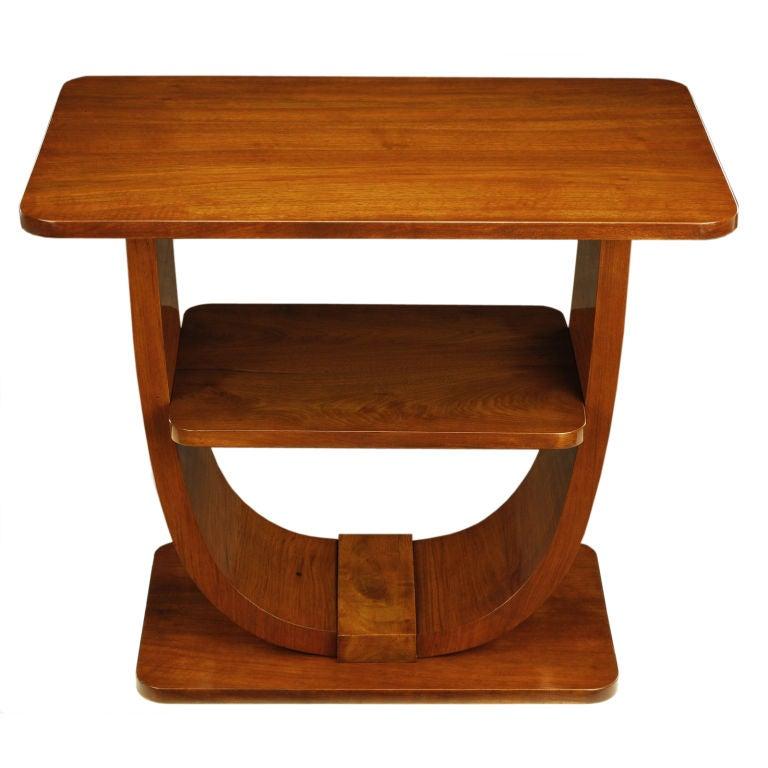 art deco u- shaped coffee table 3