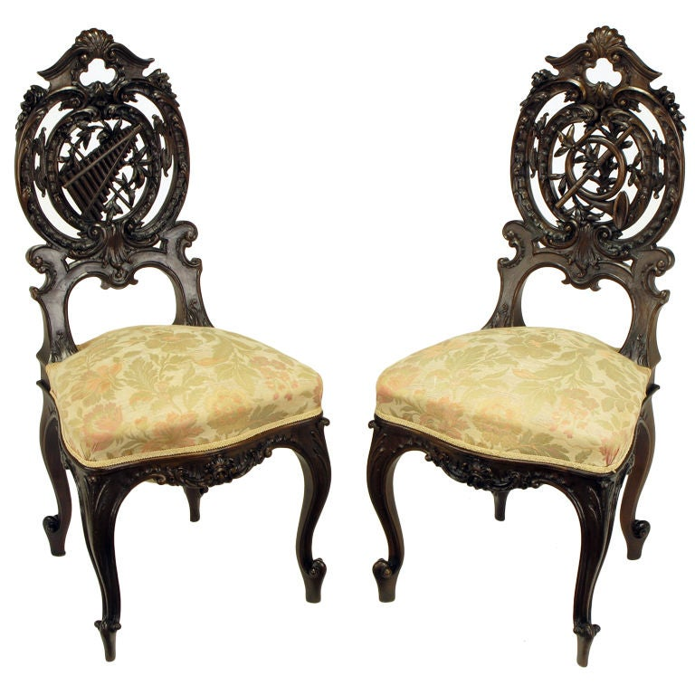 A Pair Of Period French Chairs With Missoni Fabric At 1stdibs: XXX_8419_129790038.jpg