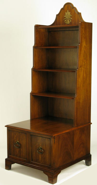Pair Mahogany 70 Quot Tall Book Shelf Night Stands By