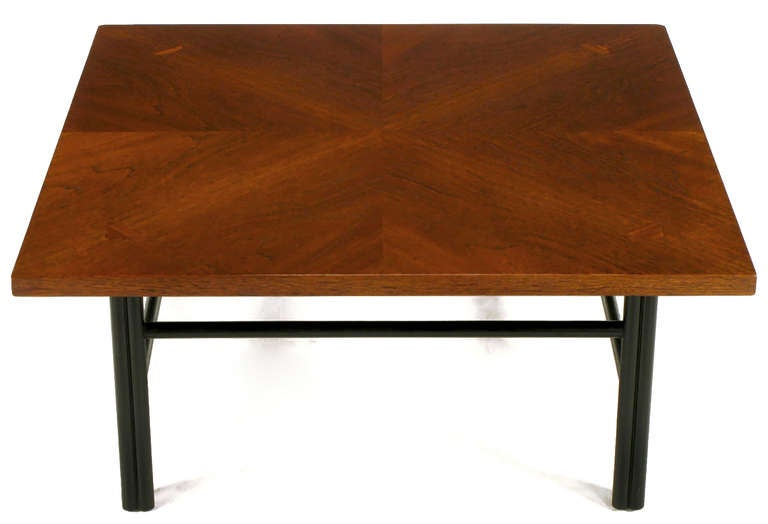 American Baker Far East Square Mahogany Coffee Table For Sale