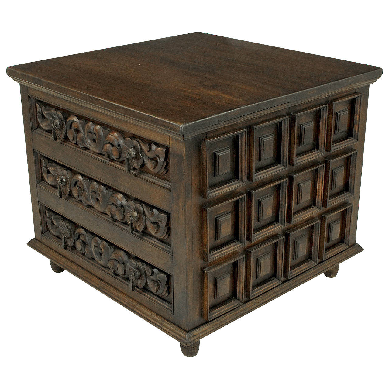Charming Artisan Handcrafted Artes De Mexico Three Drawer Commode 1