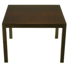Edward Wormley Rosewood Parsons-Style End Table