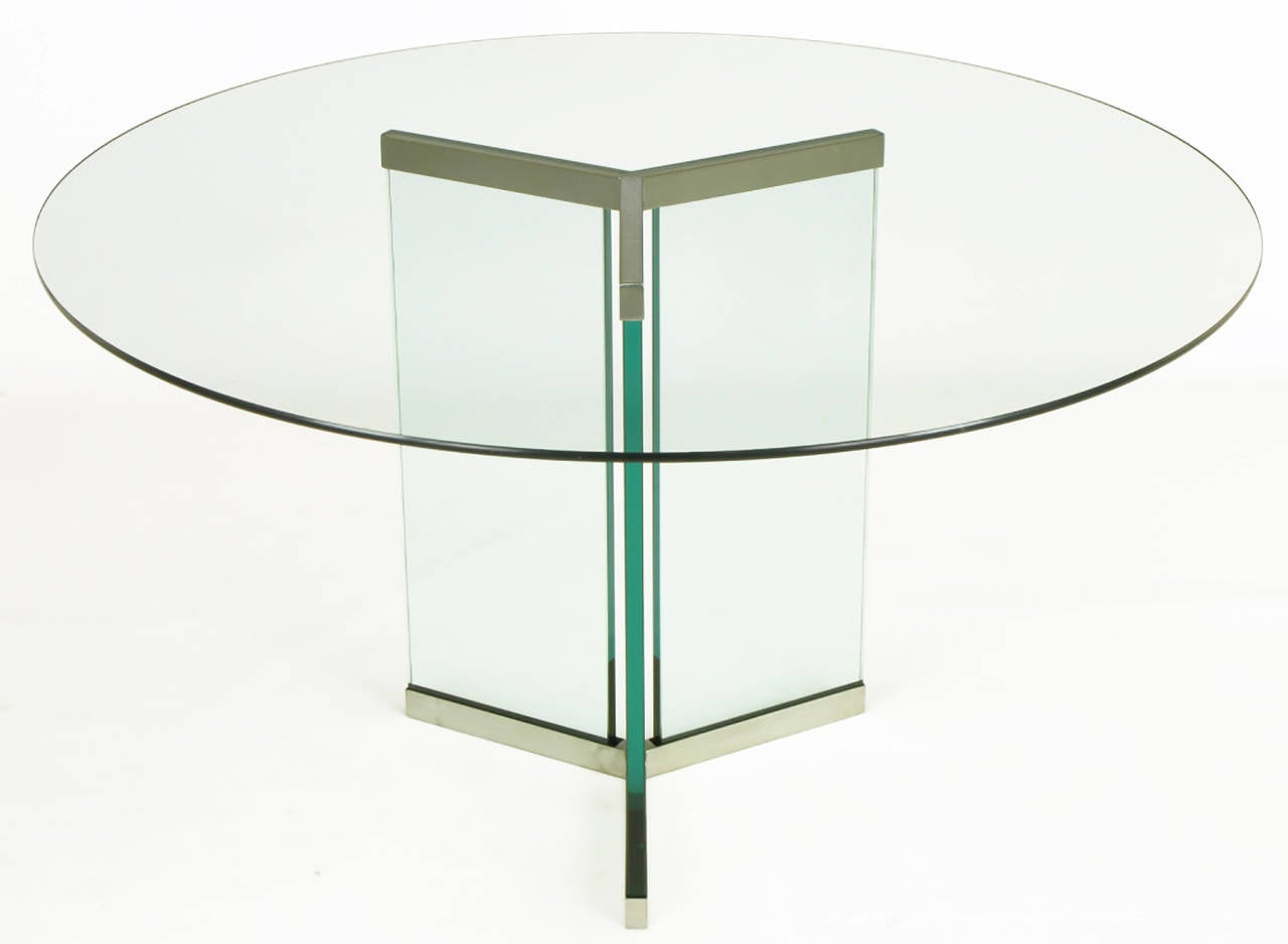 Kitchen Table Base For Glass Top