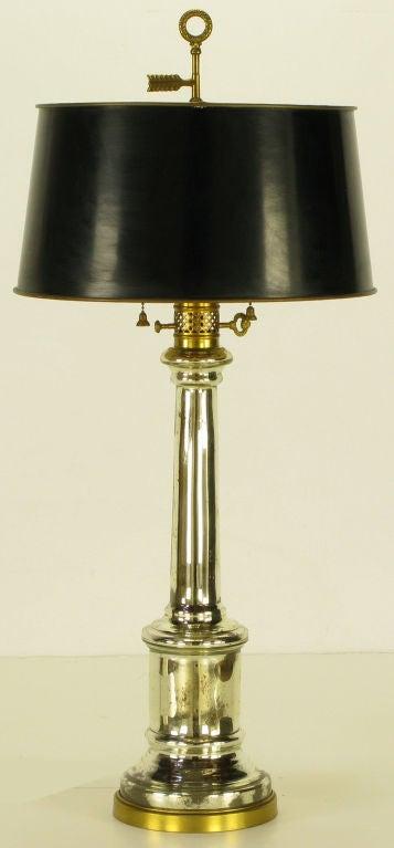 Warren Kessler Empire Style Mercury Glass Table Lamp At 1stdibs