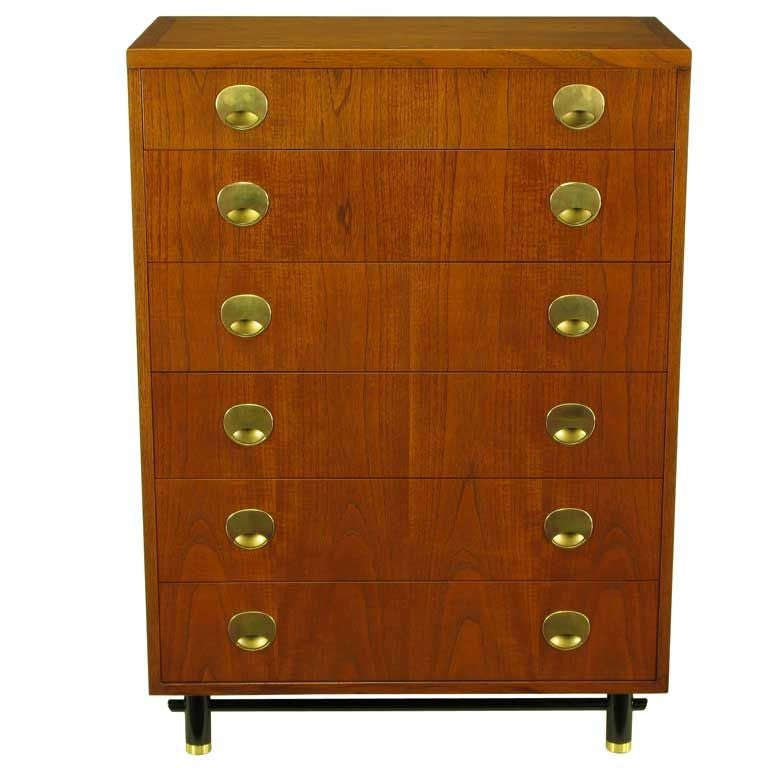 Michael taylor mahogany tall chest for baker at 1stdibs for Taylor j bedroom furniture
