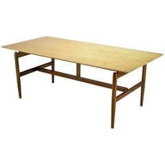 Finn Juhl Teak & Sycamore Writing Table
