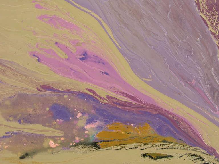 American Christine Alfery Acrylic Abstract,