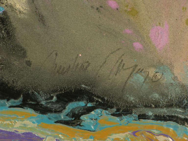 Christine Alfery Acrylic Abstract,