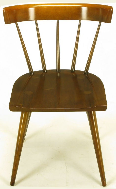 mccobb dark maple spindle back dining chairs is no longer available