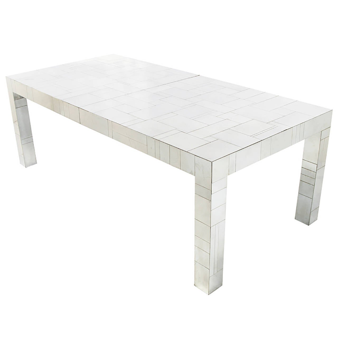 Long Dining Tables For Sale: Paul Evans Cityscape Long Dining Table For Sale At 1stdibs