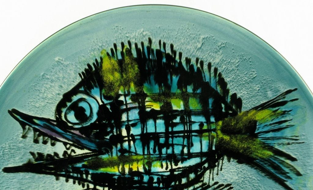 Large & Colorful Handpainted Japanese Porcelain Bowl 2