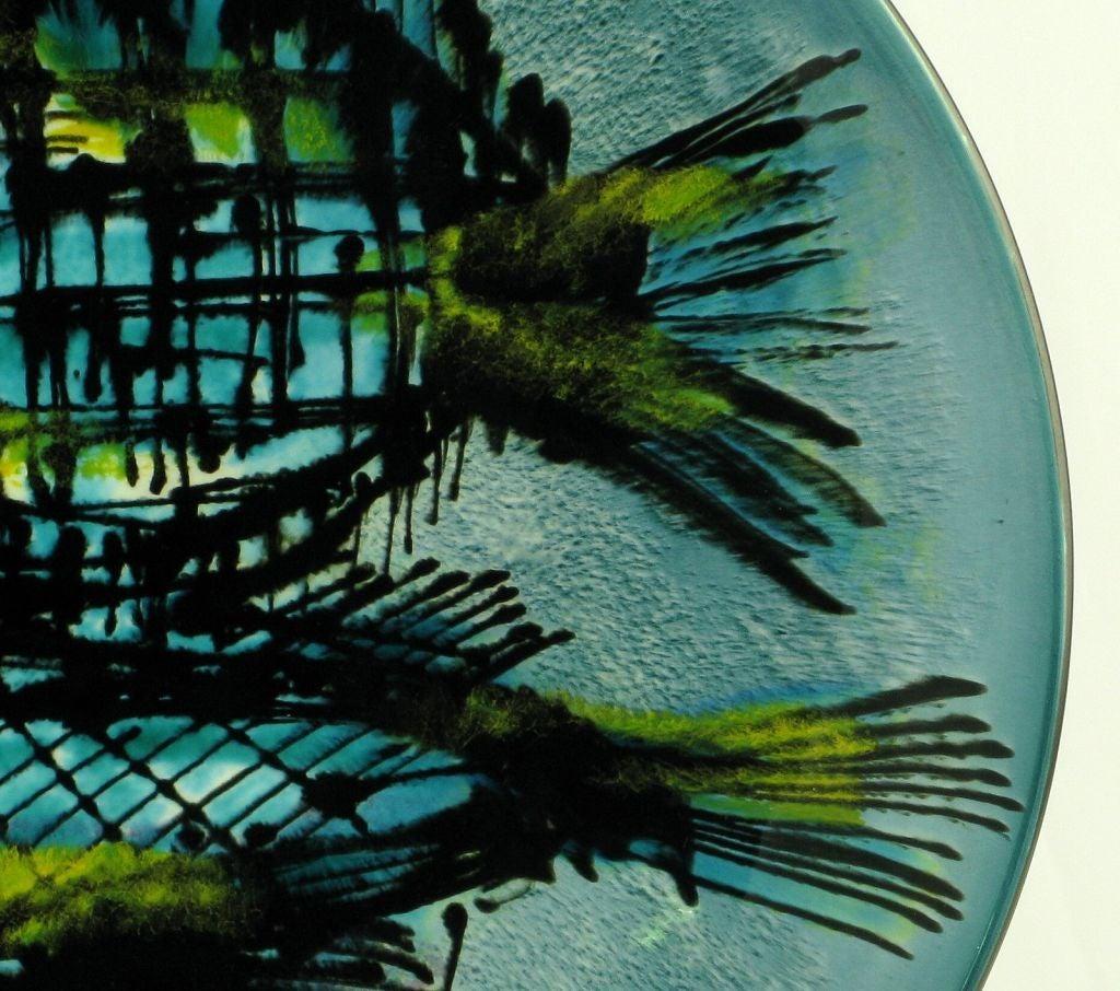 Large & Colorful Handpainted Japanese Porcelain Bowl 4