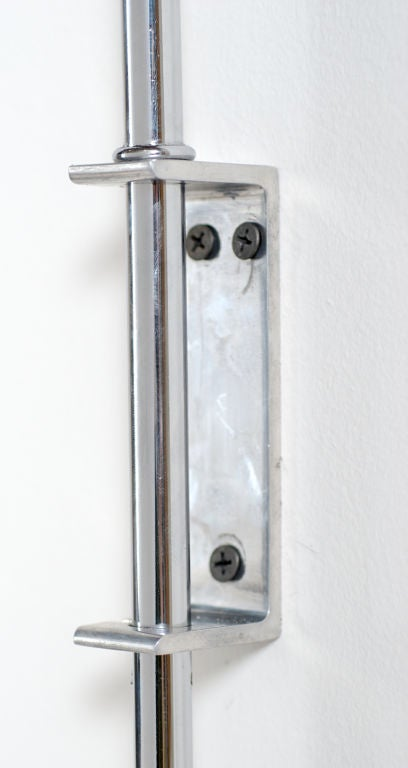 Wall Lamp Adjustable Arm : Chrome Sonneman Adjustable Arm Wall Lamp at 1stdibs