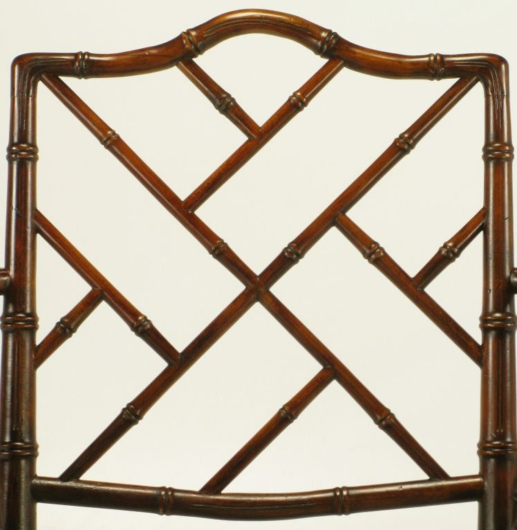 Bamboo Chinese Chippendale Chairs Chinese Chippendale Bamboo