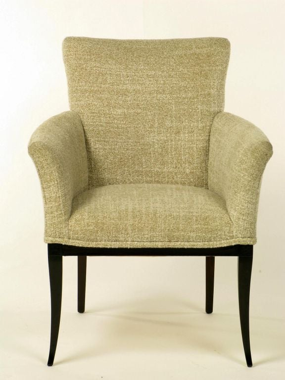 Pair Armchairs In The Manner Of Tommi Parzinger At 1stdibs
