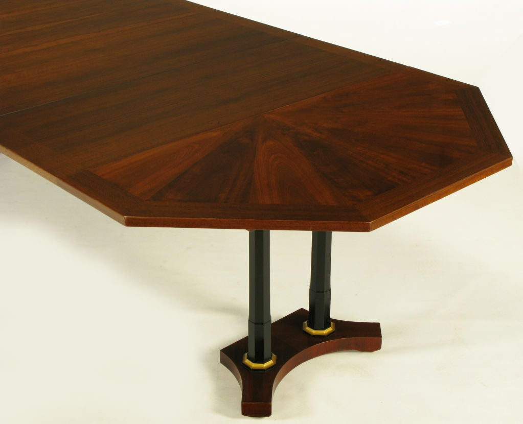 revival walnut ebonized column dining table is no longer available
