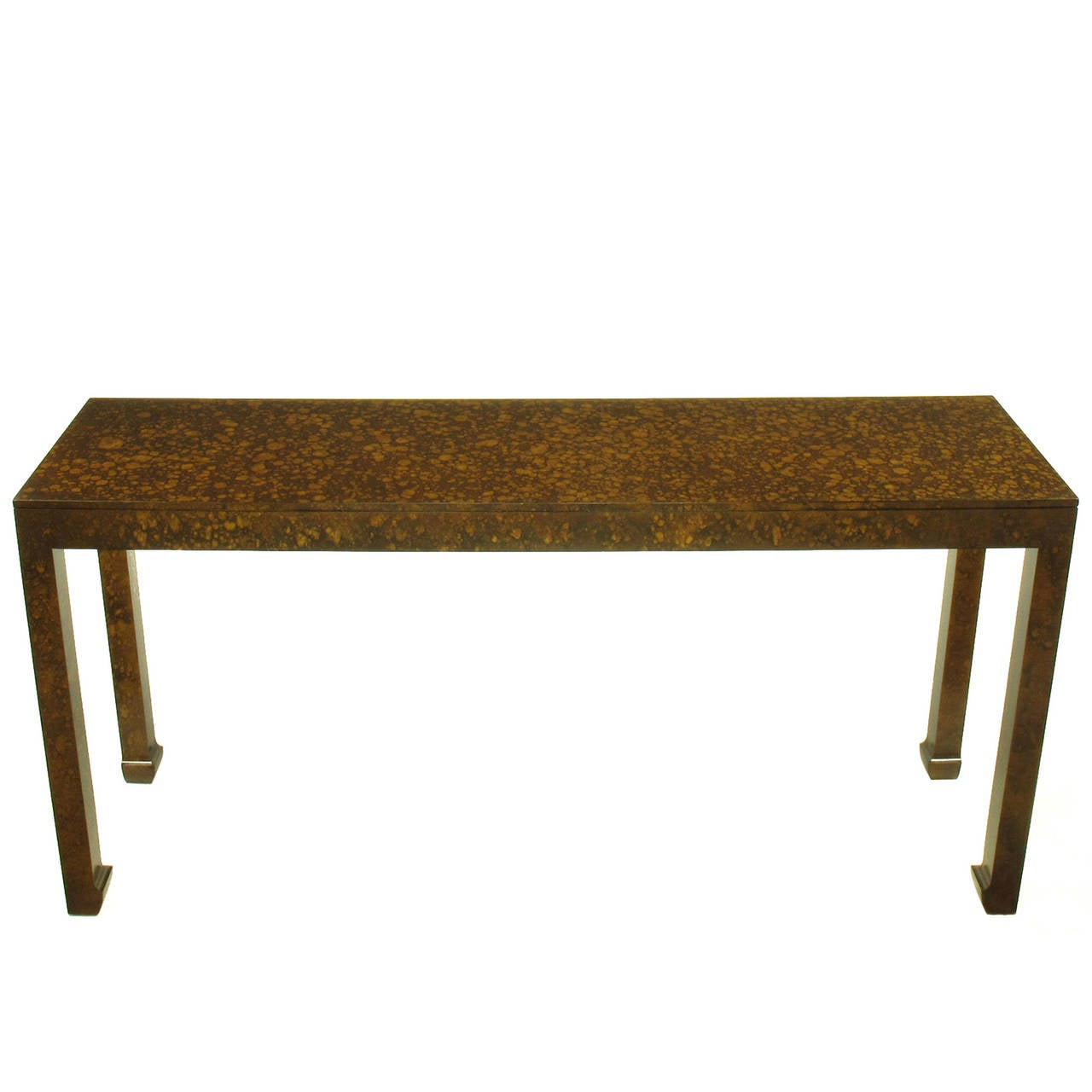 Long ming style console table finished in oil drop lacquer for Long sofa table 60