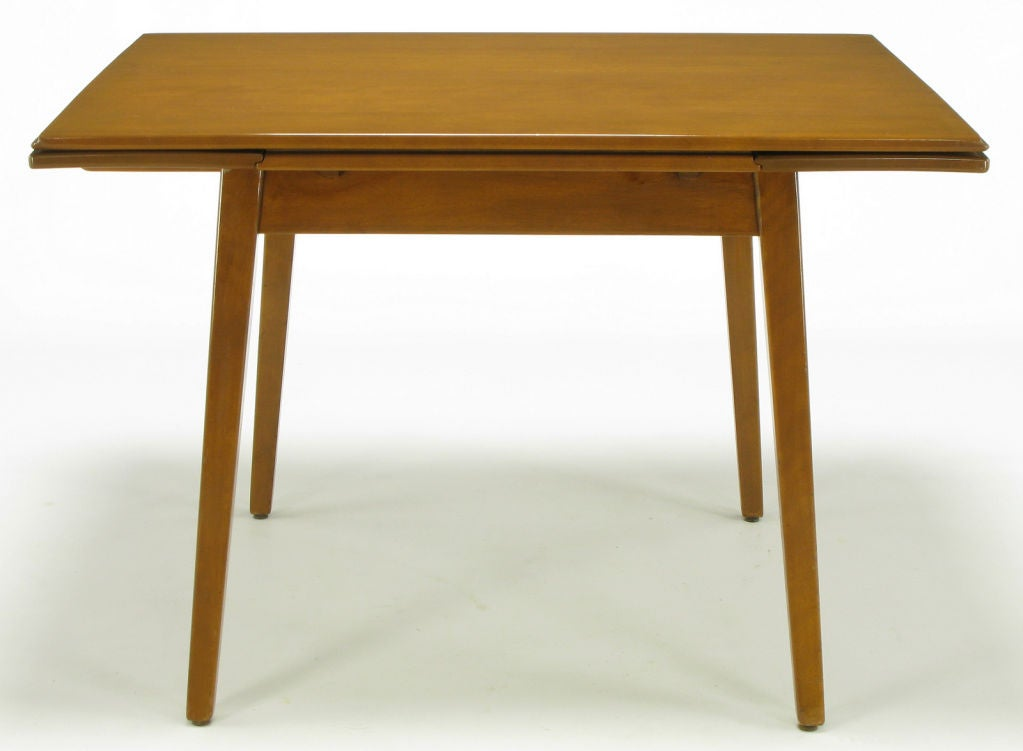 Jan kuypers birch draw leaf dining table by imperial of canada at 1stdibs - Dining room table canada ...