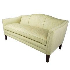 Edward Wormley 1930s Camelback Sofa For Dunbar