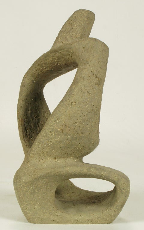 Pottery 1952 Ceramic Sculpture By William August Hoffman (1920-2011)