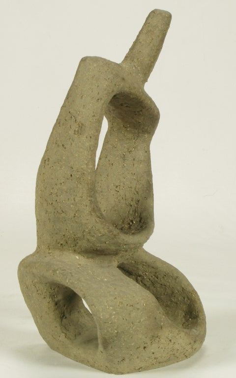 1952 Ceramic Sculpture By William August Hoffman (1920-2011) 1