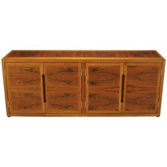 Dunbar Rosewood and White Oak Credenza