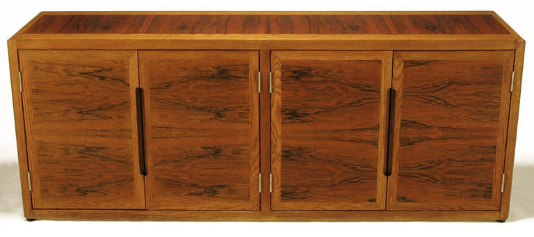 Dunbar Rosewood and White Oak Credenza 2