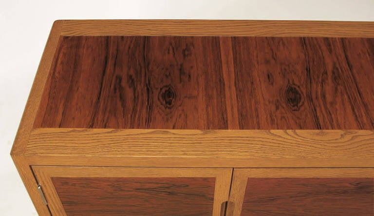 Dunbar Rosewood and White Oak Credenza 7