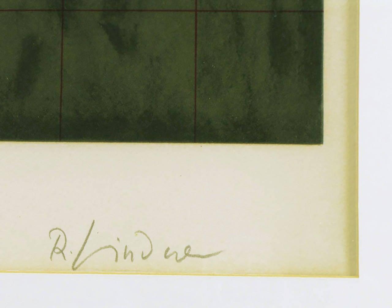 Paper Richard Lindner Signed Lithograph Titled