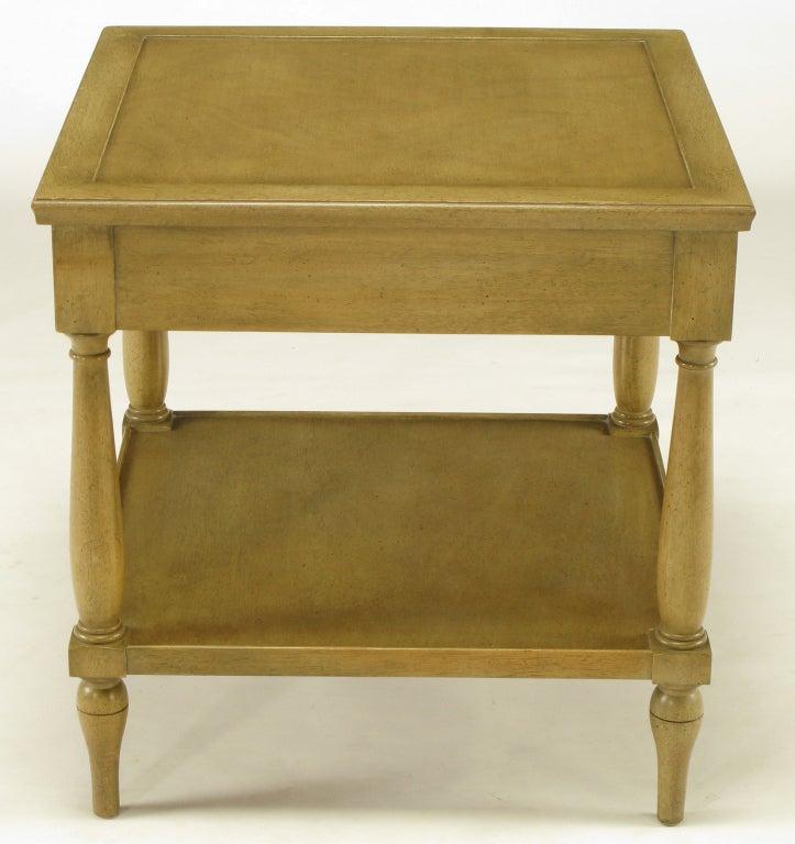 Fine Arts Furniture Co. Driftwood Glazed Mahogany Side
