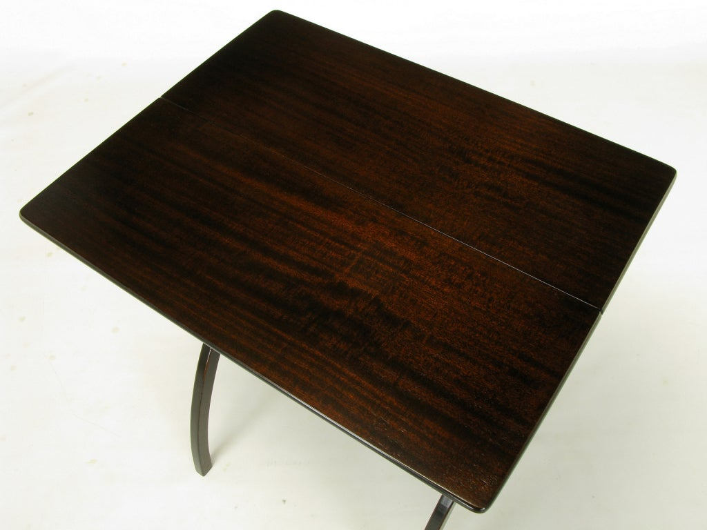 19th century mahogany folding coach table at 1stdibs for Coach furniture