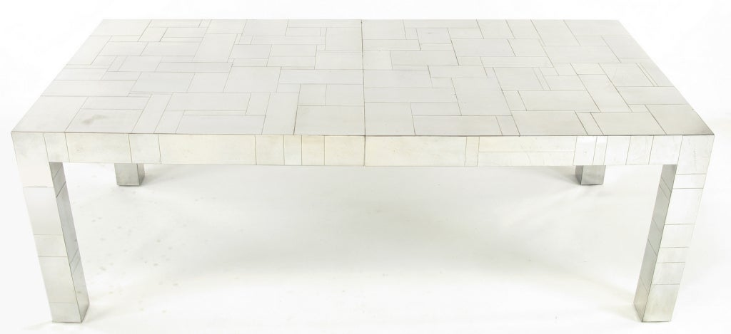 Paul Evans Cityscape 84 Quot Long Dining Table At 1stdibs
