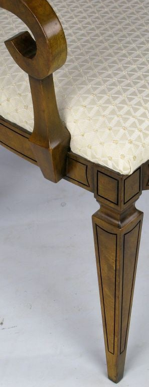 Six William Doezema Biedermeier Dining Chairs for Mastercraft 4
